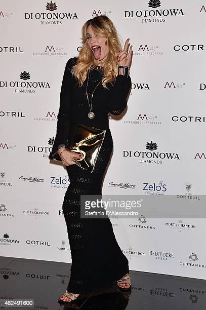 Elenoire Casalegno attends Alessandro Martorana's birthday party on January 29 2015 in Milan Italy