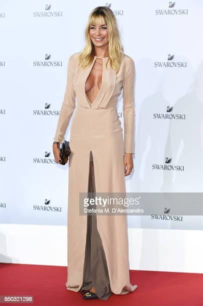 Elenoire Casalegno attends Swarovski Crystal Wonderland Party on September 20 2017 in Milan Italy