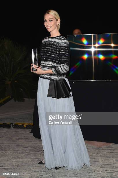 Eleonora Abbagnato attends the Kineo Award during the 71st Venice Film Festival on August 31 2014 in Venice Italy