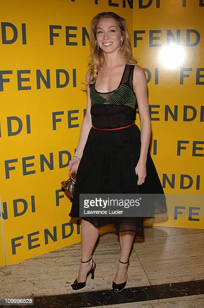 Eleonora Abbagnato during Fendi 80th Anniversary All Hallow's Eve Party Hosted by Karl Lagerfeld at 25 Broadway in New York City New York United...