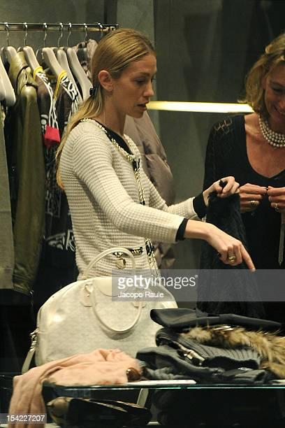 Eleonora Abbagnato is seen on October 16 2012 in Milan Italy