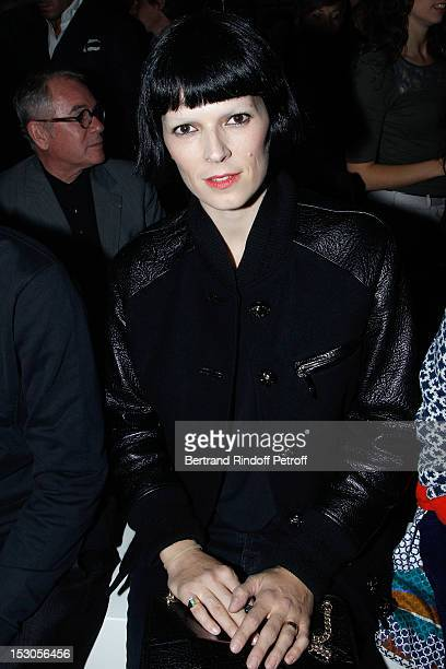 Eleonora Bose attends the Loewe Spring / Summer 2013 show as part of Paris Fashion Week at on September 29, 2012 in Paris, France.