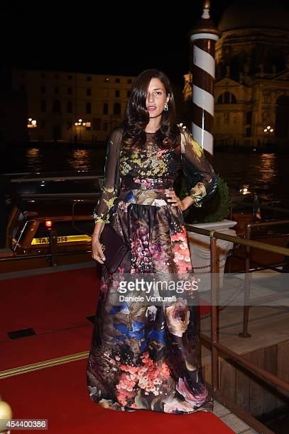 Eleonora Carisi attended JOHNNIE WALKER GOLD LABEL RESERVE and Vanity Fair's glamourous event during the Venice Film Festival The gold event revealed...