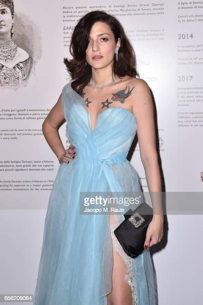 Eleonora Carisi attends a dinner for 'Damiani Un Secolo Di Eccellenza' at Palazzo Reale on March 21 2017 in Milan Italy