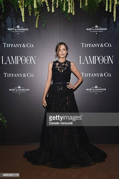 Eleonora Carisi attends the Lampoon Gala during the 72nd Venice Film Festival at Palazzo Pisani Moretta on September 3 2015 in Venice Italy