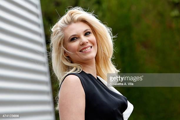 Eleonora Daniele attends 'Estate In Diretta' Tv Show photocall at RAI on May 20 2015 in Rome Italy