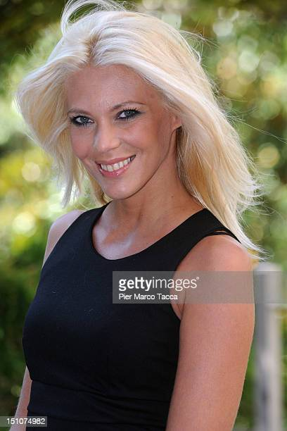 Eleonora Daniele attends RAI 1 TV programmes presentation at Hotel Westin Palace on August 31 2012 in Milan Italy