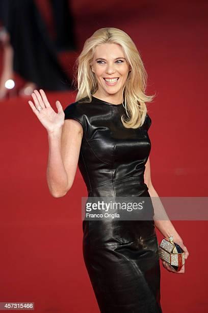 Eleonora Daniele attends the Rome Film Festival Opening and 'Soap Opera' Red Carpet during the 9th Rome Film Festival at Auditorium Parco Della...