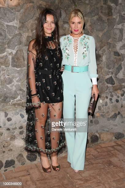 Eleonora Gaggiaro and Hofit Golan attends 2018 Ischia Global Film Music Fest on July 16 2018 in Ischia Italy