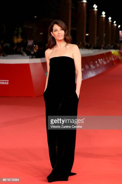 Eleonora Ivone walks a red carpet for 'Prendre La Large' during the 12th Rome Film Fest at Auditorium Parco Della Musica on October 29 2017 in Rome...