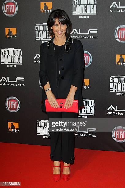 Eleonora Leone attends the 'C'era Una Volta In America Director's Cut' premiere at Space Moderno on October 16 2012 in Rome Italy