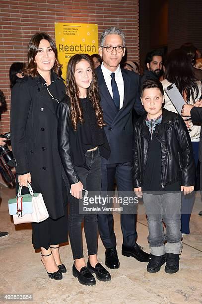 Eleonora Pratelli, Anita Fiorello, Beppe Fiorello and Nicola Fiorello attend a photocall for 'Era D'Estate' during the 10th Rome Film Fest at...
