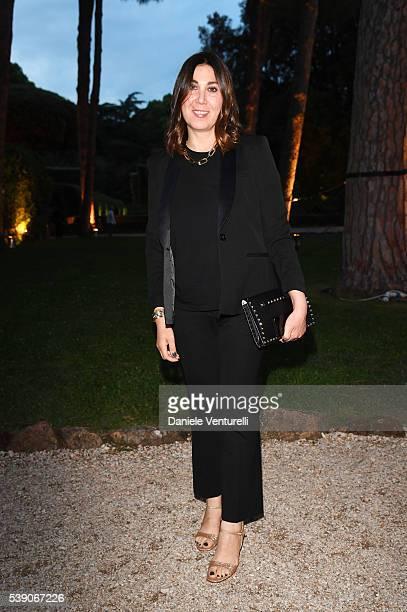 Eleonora Pratelli attends McKim Medal Gala In Rome at Villa Aurelia on June 9, 2016 in Rome, Italy.