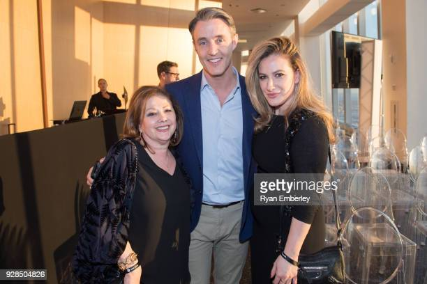 Eleonora Segal Ben Mulroney and Shirelle Segal attend MUSE New York 2018 at One World Observatory on February 27 2018 in New York City