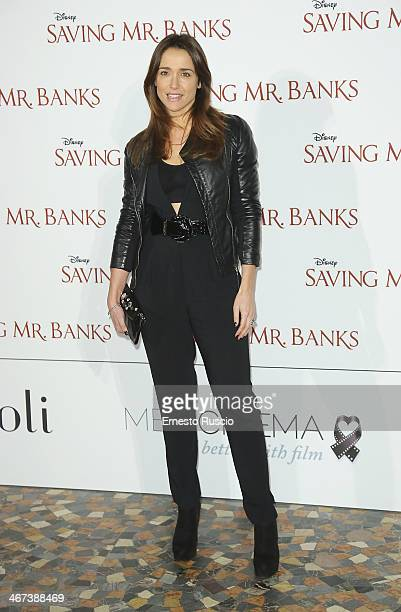 Eleonora Sergio attends the 'Saving Mr Banks' premiere at The Space Moderno on February 6 2014 in Rome Italy