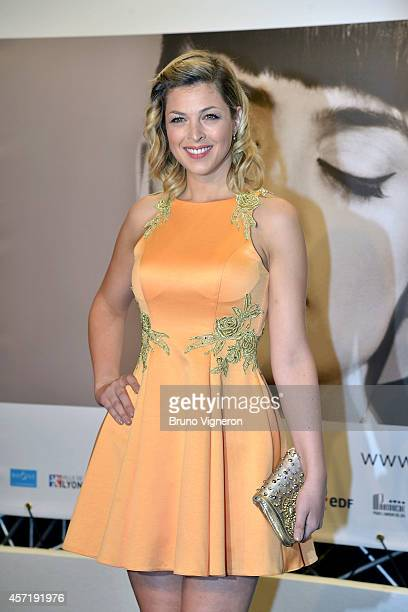 Eleonore Boccara attends opening ceremony of the 6th Lyon Film Festival on October 13 2014 in Lyon France