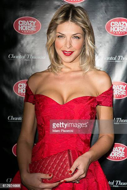 Eleonore Boccara attends the 'Chantal Thomass Dessous Dessus' show Premiere at Le Crazy Horse on October 5 2016 in Paris France