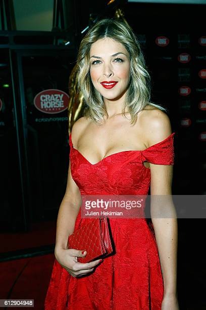 Eleonore Boccara attends the Chantal Thomass' Show at Le Crazy Horse on October 5 2016 in Paris France