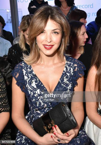 Eleonore Boccara attends the Christophe Guillarme show as part of the Paris Fashion Week Womenswear Fall/Winter 2017/2018 on March 1 2017 in Paris...