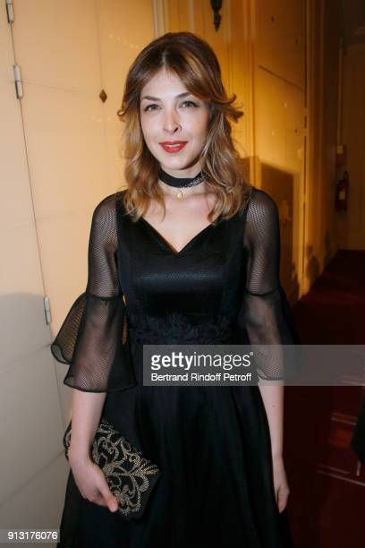 Eleonore Boccara attends the 'Heart Gala' Evening to benefit the 'Mecenat Chirurgie Cardiaque' at Salle Gaveau on February 1 2018 in Paris France
