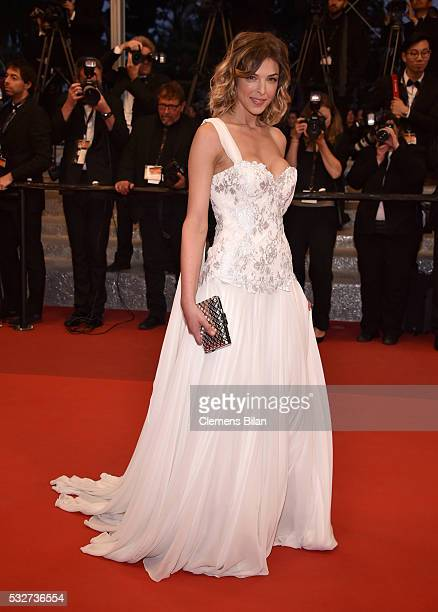 Eleonore Boccara attends the It's Only The End Of The World Premiere during the 69th annual Cannes Film Festival at the Palais des Festivals on May...