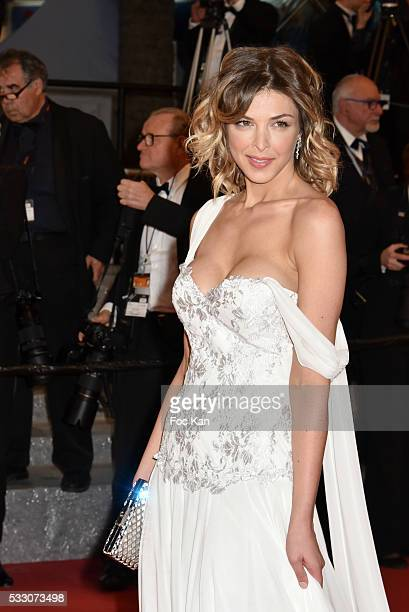 Eleonore Boccara attends the 'It's Only The End Of The World ' Premiere during the 69th annual Cannes Film Festival at the Palais des Festivals on...