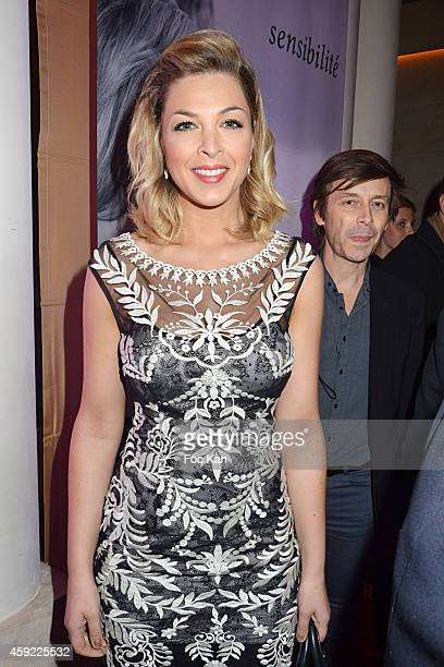 Eleonore Boccara attends the 'Mayshad Luxury Bag BFF' Launch Party At Park Hyatt Vendome on November 18 2014 in Paris France