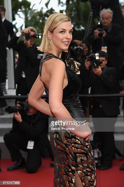 Eleonore Boccara attends the Premiere of Dheepan during the 68th annual Cannes Film Festival on May 21 2015 in Cannes France