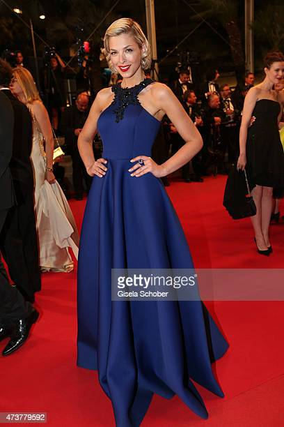 Eleonore Boccara attends the Premiere of 'Mon Roi' during the 68th annual Cannes Film Festival on May 17 2015 in Cannes France
