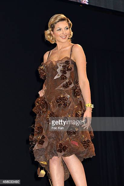 Eleonore Boccara attends the 'Salon Du Chocolat Chocolate Fair 20th Anniversary' At the Parc des Expositions Porte de Versailles on October 28 2014...