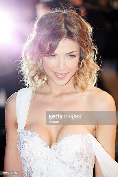 Eleonore Boccara attends the screening of It's Only The End Of The World at the annual 69th Cannes Film Festival at Palais des Festivals on May 19...