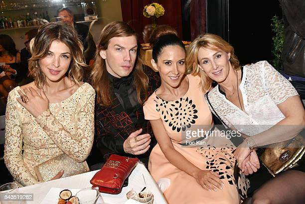Eleonore Boccara Christophe Guillarme, Fabienne Carat and Sophie Depootert attend 22th Amnesty International France : Gala at Theatre des Champs...