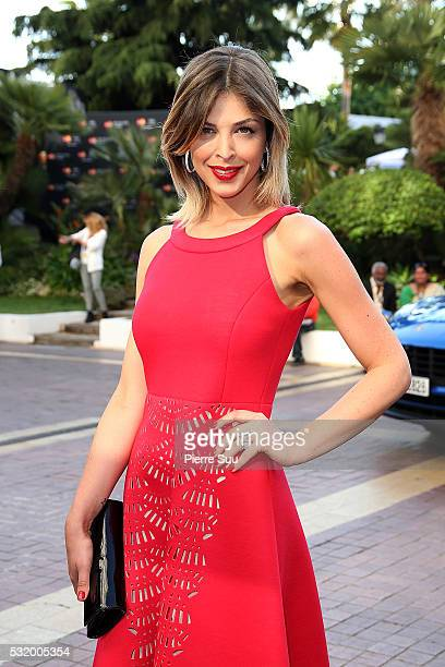 Eleonore Boccara takes the Pose at the Majestic Hotel on May 17 2016 in Cannes