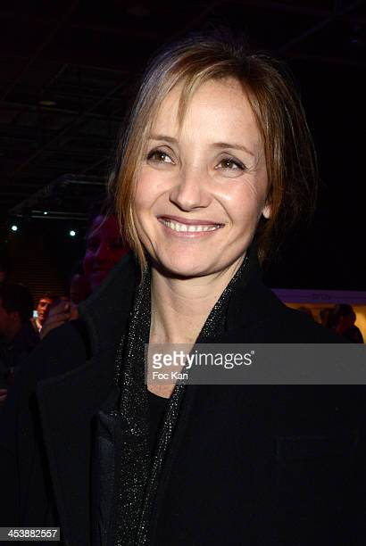 Eleonore de Galard attends a private concert in profit of 'Tout le monde Chante Contre Le Cancer' during the Gucci Paris Masters 2013 Day 1 at Paris...