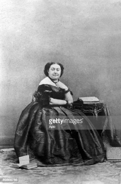 Eleonore Justine Ruffin wife of prince Pierre Bonaparte c 1860
