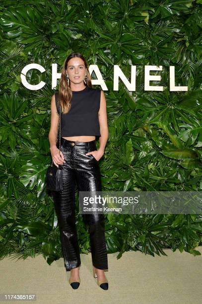 Eleonore Toulinwearing CHANEL attends Chanel Dinner Celebrating Gabrielle Chanel Essence With Margot Robbie on September 12 2019 in Los Angeles...