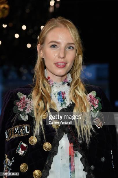 Eleonore Von Habsburg attends the Dolce Gabbana show during Milan Fashion Week Spring/Summer 2018 on September 24 2017 in Milan Italy