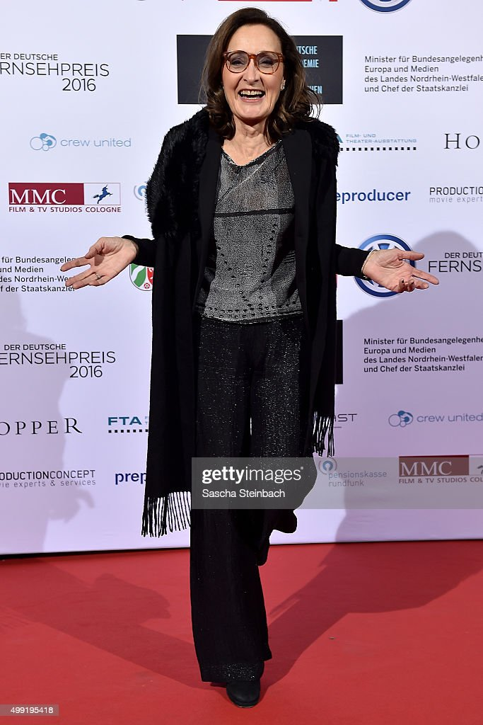 Eleonore Weisgerber attends the German television award by the Deutsche Akademie fuer Fernsehen at Museum Ludwig on November 28, 2015 in Cologne, Germany.