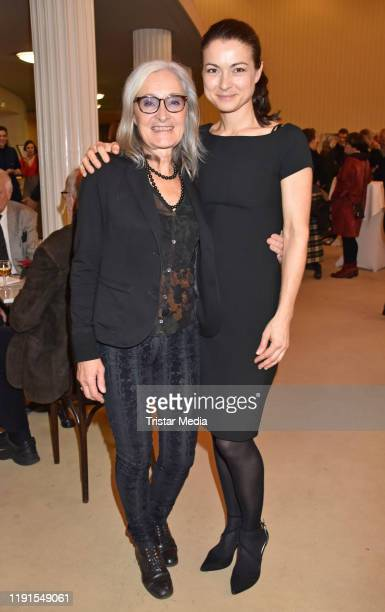 Eleonore Weisgerber Henriette RichterRoehl during the Skylight' theater premiere at Schiller Theater on December 1 2019 in Berlin Germany