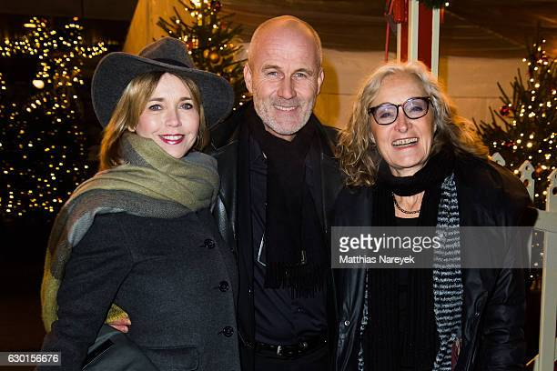 Eleonore Weisgerber Tina Ruland and Claus G Oeldorp attend the 13th Roncalli Christmas at Tempodrom on December 17 2016 in Berlin Germany