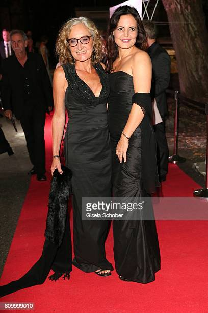 Eleonore Weissgerber and Elisabeth Lanz during the 70th anniversary of Arthur Brauner's CCC Film Studios on September 23 2016 in Berlin Germany