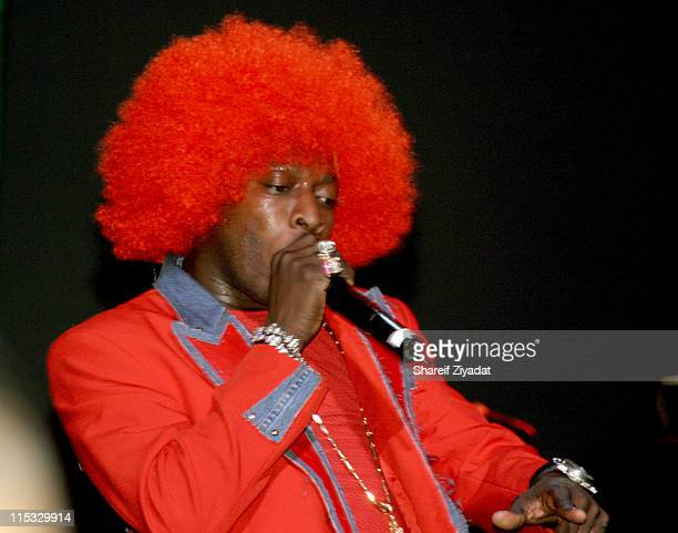 Elephant Man during VP Records 25th Anniversary - Arrivals and Concert at Radio City Music Hall in New York City, New York, United States.