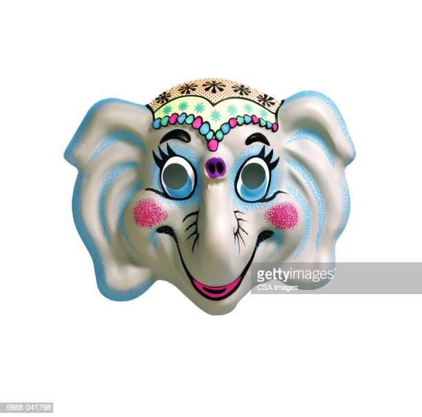 elephant mask - schutzmaske stock-fotos und bilder