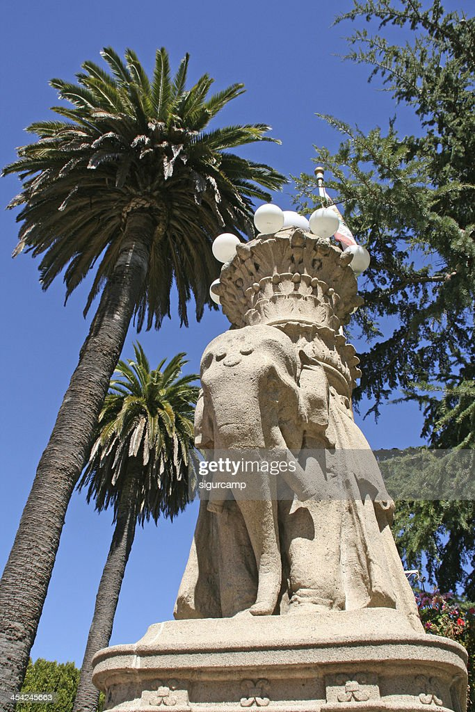 Elephant statue in sausalito, san francisco, california : Stock Photo