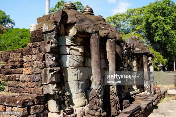Elephant Terrace of Angkor Thom