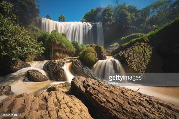 Elefant-Wasserfälle in Vietnam.