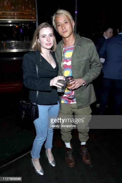 Elephante and guest attend Reed Smith Grammy Party at Nightingale Plaza on February 06 2019 in Los Angeles California