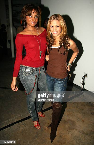 Elesa Renee and Rocsi during 2006 BET HipHop Awards 'Welcome to Atlanta' PreParty Hosted by Hennessy BETCom and So So Def at Mason Murer Fine Art...