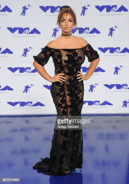 Elettra Lamborghini arrives at the 2017 MTV Video Music Awards at The Forum on August 27 2017 in Inglewood California