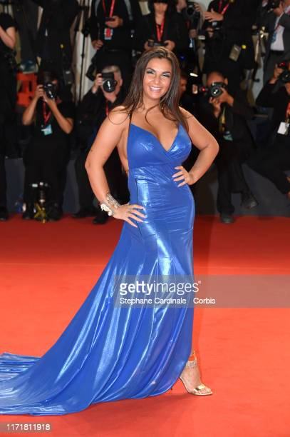 Elettra Lamborghini attends The King red carpet during the 76th Venice Film Festival at Sala Grande on September 02 2019 in Venice Italy